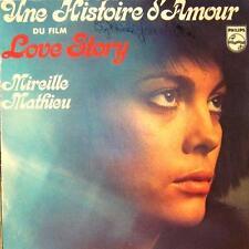 """Mireille Mathieu(7"""" Vinyl)Une Histoire D'Amour-Phillips-6210 020-France-VG"""