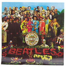 Official Beatles Sgt.Pepper Album sticker (includes Free Badge Of Your Choice)