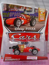 2014 CARS Pixar✿ MAMA BERNOULLI✿ Red ✿8/9 Race Fans✿✿1/55 diecast✿Disney