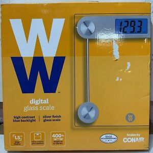 📀 Conair Weight Watchers Digital Glass Scale - Clear