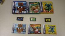 3 Gameboy Advance Spiele - Sammlung - OVP