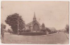Malden Baptist Church Kingston Road, Surrey 1927 Babb Postcard B749