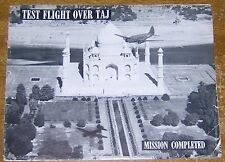 Test Flight Over Taj Mahal 1945 Air Depot Book WWII Transport Crew in Agra India