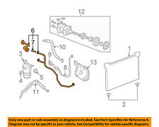 GM OEM-A/C AC Hose Line Pipe 22876353