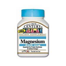 21st Century Magnesium 250mg 100ct Tablets