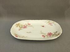 Ancien plat de service porcelaine 1900 art de la table french antique plate