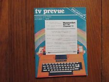 Oct. 1-1978 Chicago TV Prevue Magazine(FALL PREVIEW/FREESTYLE/VISIONS/DAD'S ARMY