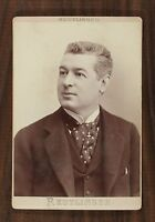 Georges Baillet, Acteur Théâtre Comédie-Française, Photo Cabinet card Reutlinger
