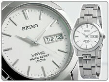 Seiko Gents Classic Dress Watch Quartz 100M Sapphire Glass SGG713P1 UK Seller