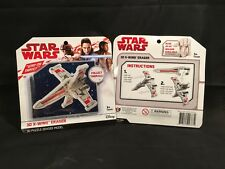 Star Wars 3D X-Wing Collectable Eraser Puzzle Model – Set of 2 Pcs. Brand New