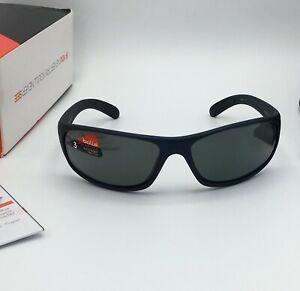 Bolle ANACONDA Men Sunglasses, Matte Blue, POLARIZED TNS Gun Gray Lens   11672