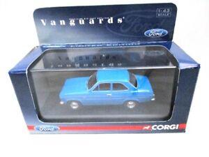 Corgi Vanguards Ford Escort Mk 1 Electric Blue  VA09506  RARE