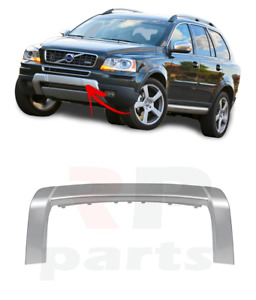 FOR VOLVO XC 90 2007 - 2014 NEW FRONT BUMPER LOWER SILVER MOLDING TRIM 31323585