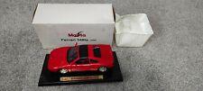 Ferrari 348ts Maisto 1:18 scale Box