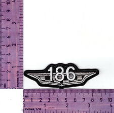 Classic  HR Holden 186 Engine Embroidered Badge / Cloth Patch