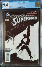 Superman (2011 3rd Series) #33 B&W Variant CGC 9.6 1:50