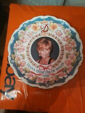 DIANA PRINCESS OF WALES PLATE 1996 PETER JONES CHINA Wakefield Limited Edition