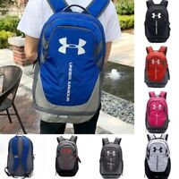 "New School UA Storm Hustle 3.0 Backpack 15"" Water-Resist Laptop Camping Bag"