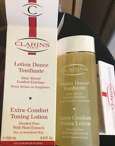 clarins paris Extra Comfort Toning Lotion New 200ml
