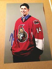 Miles Gendron SIGNED 4X6 photo OTTAWA SENATORS #2