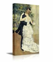 "Dance in Town by Pierre-Auguste Renoir - Canvas Print Wall Art - 36"" x 18"""