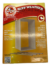 NEW Ideal Pet Products Ruff Weather Extra Large Wall Installation Kit 4.75X7.25