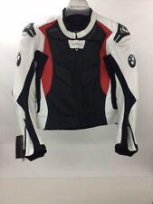 Jacke Sport 2 Herren, BMW Motorrad, schwarz/weiß/rot, Größe 102, Leder, Neu