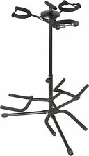 Musician's Gear Triple Guitar Stand Black