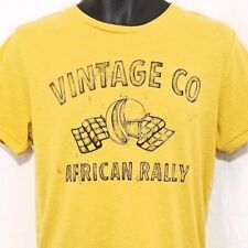 Jack & Jones Mens T Shirt Vintage Co African Rally Auto Racing Retro Medium NEW