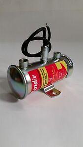 Fiat, Abarth 1000, 2000 Bendix style fuel pump *NEW ZINC PLATED*