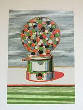 WAYNE THIEBAUD, 'Gumball Machine', promotional card, British Museum, 2017.