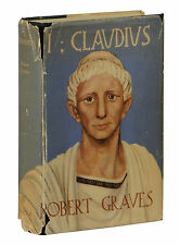 I Claudius ~ ROBERT GRAVES ~ First Edition ~ 1st UK Printing 1934 Hardcover