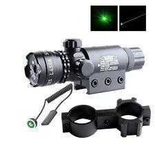 Powerful Green Laser Dot Sight Scope 5mW Beam Lazer Light 532nm Adjustable