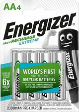 Pile Rechargeable AA 4 Energizer Extreme 2300mAh 1,2V (4 Pièces)