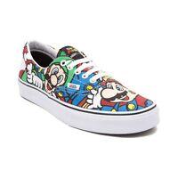 NEW Special Edition Nintendo x Vans Mario Villains Shoes Black ...
