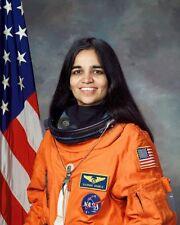 STS-107 ASTRONAUT KALPANA CHAWLA 11x14 SILVER HALIDE PHOTO PRINT