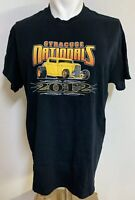 2012 SYRACUSE NATIONALS Car Show  Black T Shirt Size Large