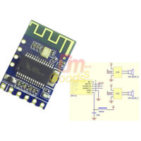 2PCS Mini BLE JDY-62 Bluetooth Stereo Audio Dual Channel High Low Level Module