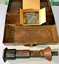 Vintage Ramset Hand Operated Explosively Actuated Fastener Driving Tool, Parts