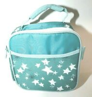 Vintage Artic Zone Insulated Lunch Box Teal Blue Mini EZ Carry Day Cooler! NWOT!