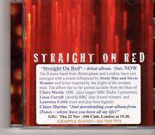 (GA733) Straight On Red, Debut Album - 2012 DJ CD