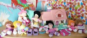 Rare Smooshees Toys Smooshies Fisher Price House Stable 80s vintage retro