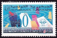 TUNISIA 1994 Civil Aviation 1v set MNH @S4488