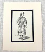 Antico Stampa Shakespearean Costume Duca Frederick Vittoriano Originale 1889