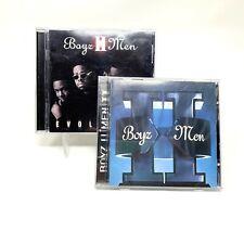 Lot of 2 Audio CDs Boyz II Men Evolution And Boys II Men II