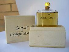 GIO' de GIORGIO ARMANI PURE PARFUM 15  ml  1992 ORIGINAL RARE VINTAGE
