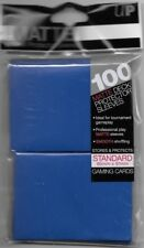 Ultra Pro MATTE Deck Protector Sleeves BLUE 100ct Standard NEW Fast Ship