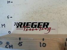 STICKER,DECAL RIEGER TUNING MOTORSPORT AUTOSPORT TUNING ?