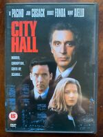 City Hall DVD 1995 Politico Thriller Film Con Al Pacino E John Cusack