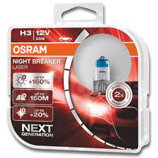 Osram H3 12V 453 Night Breaker Laser (Next Generation) +150% Car Headlight Bulbs